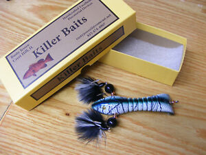 Killer Baits Rusty Jessee Contemporary Glasseye Crawfish n Giant Snakehead Color