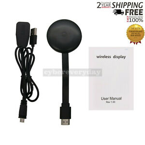 2.4G Chromecast 1080P HDMI HDR Streaming Mobile Wireless Player WiFi Apps dt55