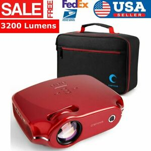 3200LMS SmartPhone HD Projector With Carry Bag HDMI for Home TheaterVideo Game
