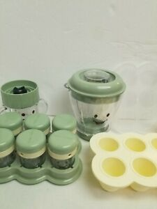 Magic Baby Bullet Food Containers Freezer Storage Small Blender Cup