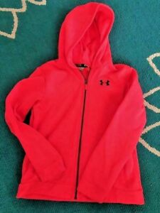 Girl's Under Armour Hooded Zip up JacketHoodie YLG Youth Large