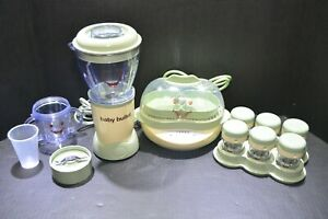 Baby Bullet Blender and Baby Bullet Steamer Bundle W/ Storage Containers