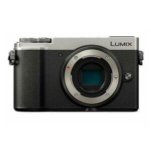Panasonic Lumix DC-GX9 Mirrorless Camera Body Silver TT