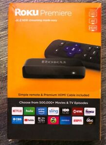 Roku Premiere  HD4KHDR Streaming Media Player