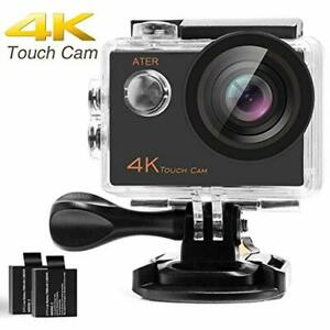 4K Touch Action Camera WiFi Ultra HD 16MP 30m Underwater Waterproof Camcorder 17