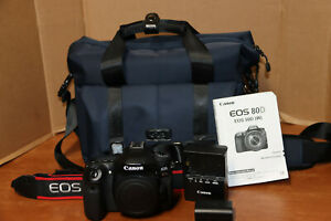 Used Condition Canon EOS 80D 24.2MP Digital SLR Camera (Body Only)