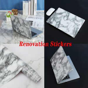 1 Roll 3d Marble Texture Self-adhesive Renovation Stickers Wallpaper Waterproof
