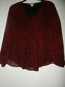 Coldwater Creek Womens Blouse Size SP Small Petite Womens Pullover Blouse