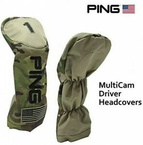PING Golf Driver Club Head Cover 2019 US Limited Multi Cam 34275 FS