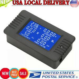 PZEM 022 AC Digital Meter Power Energy Voltage Current KWh Test Close CT 100A US $16.00