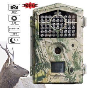 Boly Hunting Trail Camera BG490 30MP 1080P 850nm Low Glow 100ft Detection #13