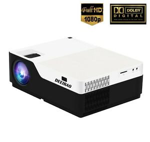 "Real 1080P Full HD Home Theater Projector 300""Display Compatible TV Stick Xbox"