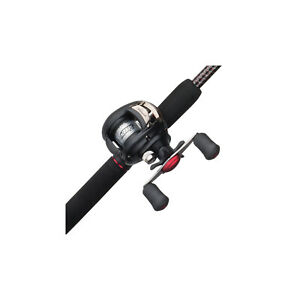 Ugly Stik GX2 Baitcast Low Profile Reel and Fishing Rod Combo