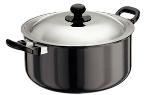 Futura Hard Anodised Cook-n-Serve Stewpot 5 L With Stainless Steel Lid AST50