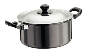 Futura Nonstick Cook n Serve Stewpot 3 L With SS Lid By Hawkins NST30