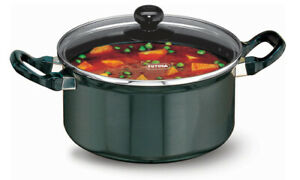 Futura Nonstick Cook n Serve Stewpot 3 L With Glass Lid By Hawkins NST30G