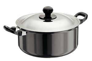 Futura Nonstick Cook n Serve Stewpot 5 L With SS Lid By Hawkins NST50