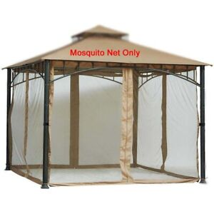 Replacement Mosquito Netting for Gazebo 10ftx10ft (Gazebo Mosquito Net Only)