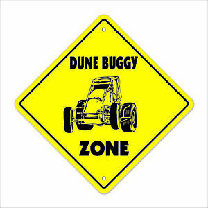 Dune Buggy Crossing Decal Zone Xing racing desert sand rails bugy racer go ca $23.98
