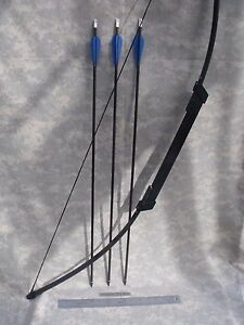 Compact SURVIVALEMERGENCY Take Down BOW - 45# Longbow (3) 30