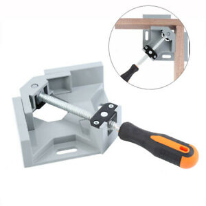 90 Degree Right Angle Clamp Two Axis Welding Clamp Woodworking Corner Clamp Tool $15.38