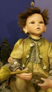 Large Ceramic Pixie Fairy Faerie Elf Sprite Doll Adoption