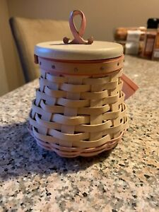 2009 Longaberger Horizon Of Hope Basket Set  A5