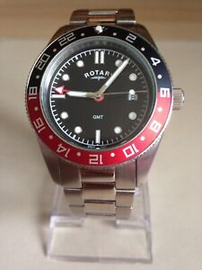Rotary Mens Stainless Steel Bracelet Watch. GB03013/04.