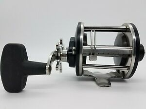 PENN NO. 9 SALTWATER BLACK LEVEL WIND BAIT CASTING FISHING REEL TACKLE USA VG