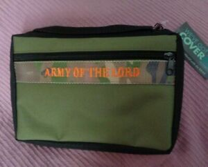 Enesco Gregg Gift Camouflage quot; the army of the Lordquot; Bible Cover Medium NWT