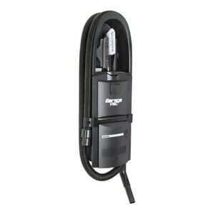 GarageVac GH-120-E Black Wall Mounted (Surface) Garage Vacuum