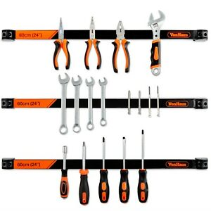VonHaus Wall Mount Magnetic Tool Holders 3x 24
