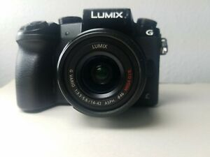 Panasonic LUMIX G7 16.0MP Mirrorless Interchangeable Lens Camera - Black (Kit)