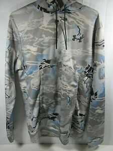 Youth Under Armour  Storm Loose  Pullover Hoodie Camo - YOUTH MEDIUM  (D6)