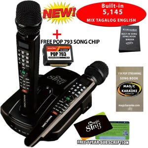PANG PINOY ITO 2019 Magic sing ET23PRO Karaoke Mic WIFI STREAMING + POP 793 CHIP