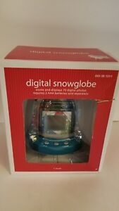 Digital Snow Globe From Target 2008 Never Opened