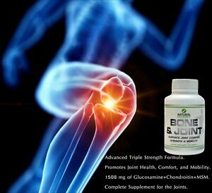 FDA Triple Strength Bone&Joint Pain Relief Premium Joint Supplement Glucosamine
