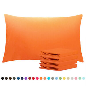 Ultra Soft Microfiber Pillowcase Set of 4 Pillow Cases Cover Stain Size 20