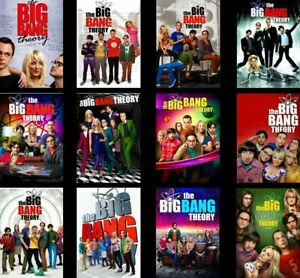 The Big Bang Theory Complete Series 1-11+12 Seasons 1-12 DVD Set New Sealed