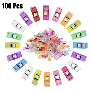 25 50 100PCS Wonder Clips For Fabric Craft Quilting Knitting Sewing Crochet B333 $6.50