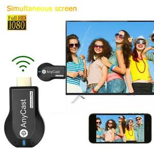 HDMI TV Stick Miracast AirPlay DLNA Wireless 2.4+5G WiFi Display Dongle Receiver