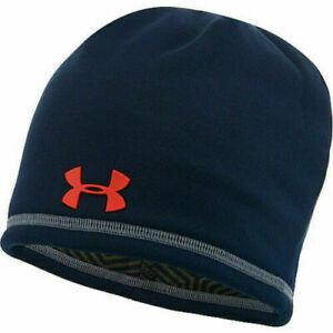 Under Armour Infrared Stay Dry Storm 1 Beanie Men Dark Navy osfa free shipping