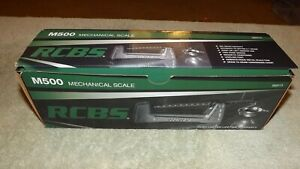 RCBS Mechanical Scale M500 #98915 505 grain capacity accurate to within 0.1 gr.