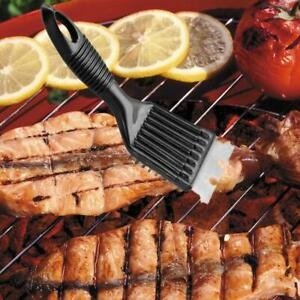 2 in 1 BBQ Barbecue Grill Brush Cleaner Stainless Steel Scraper Wire Clean Tools