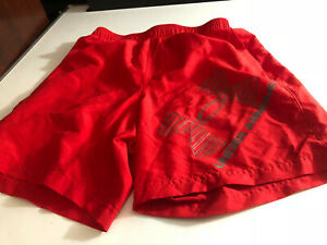 Under Armour Mens Basketball  Active Workout Shorts Red Small S Loose (M6)