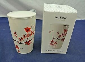 TEA FORTE, CHERRY BLOSSOM, STEEPING CUP WITH INFUSER
