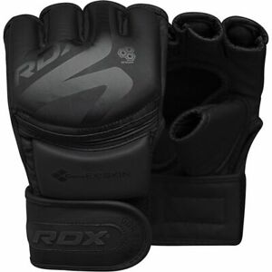 RDX F15 Sparring Martial Arts Grappling Fighting Cage Noir MMA Training Gloves $17.67