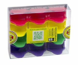 Colored Taco Holders Set Of 12