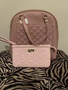 * Pink Backpack purse With a Wallet * $28.00