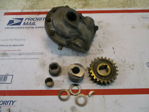 Craftsman Noma Murray snowblower gearbox with gears washers and bushings
